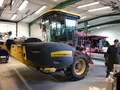 2004 New Holland HW300 Self-Propelled Windrowers and Swather