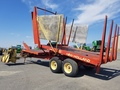 1975 New Holland 1032 Bale Wagons and Trailer