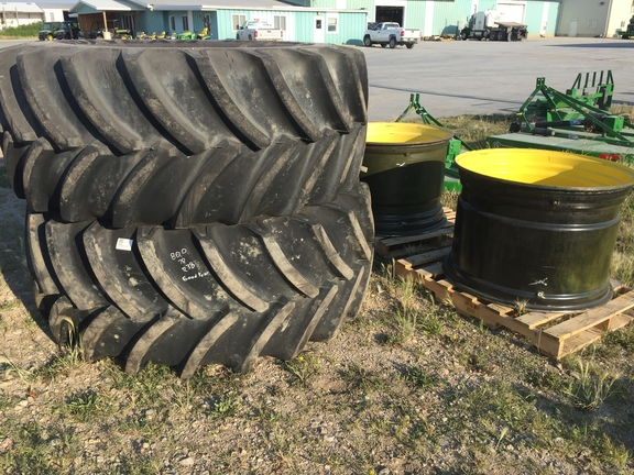 2016 Goodyear 800/70R38 Wheels / Tires / Track