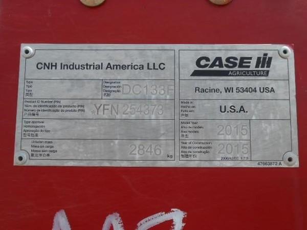 2015 Case IH DC133 Mower Conditioner