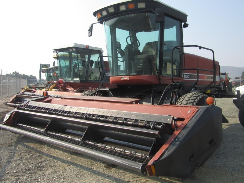 Used Hesston 8450 Self-Propelled Windrowers and Swathers for