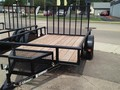 2018 Carry-On 6X10 GWPTI Flatbed Trailer