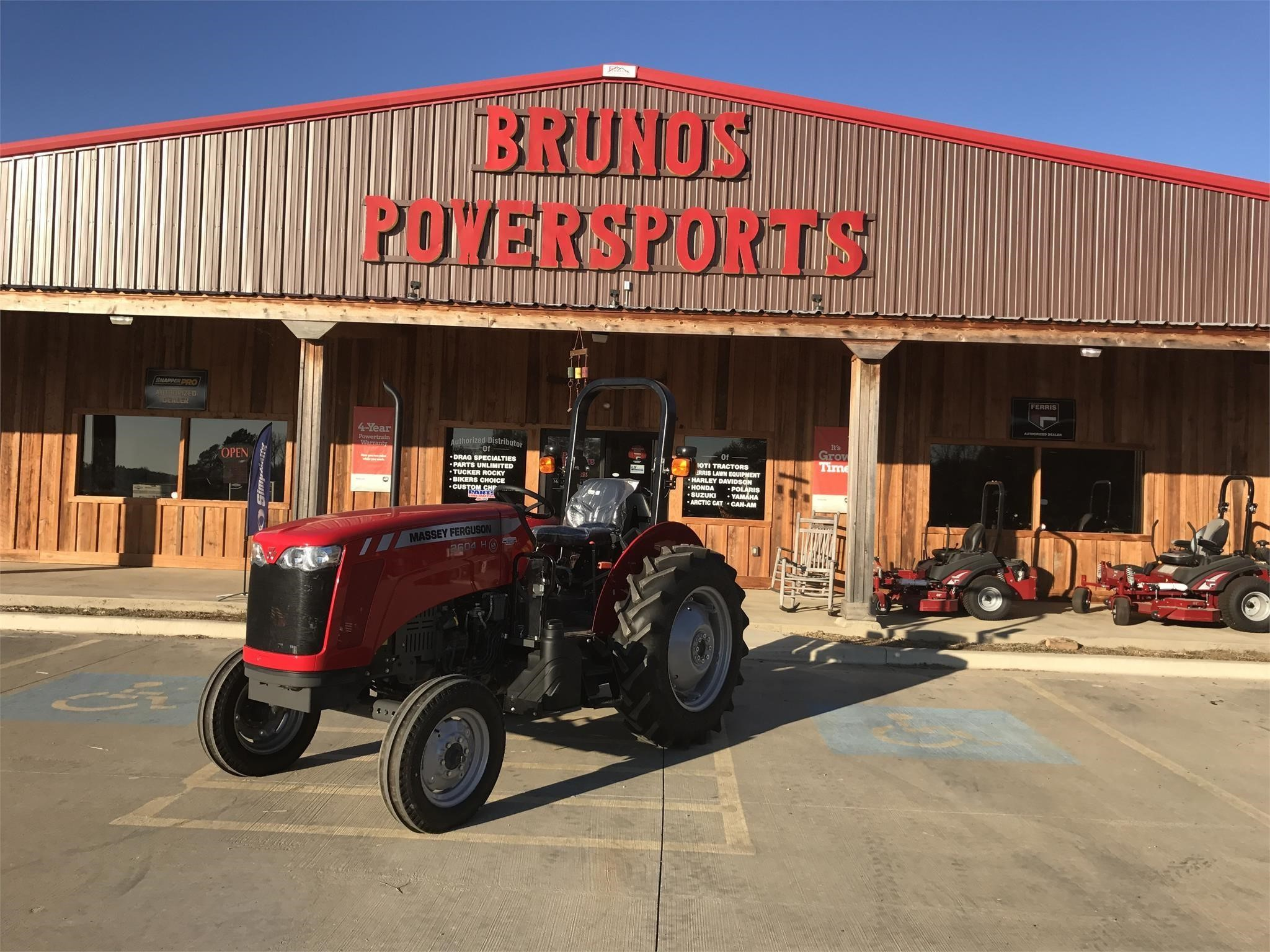2018 Massey Ferguson 2604H Tractor