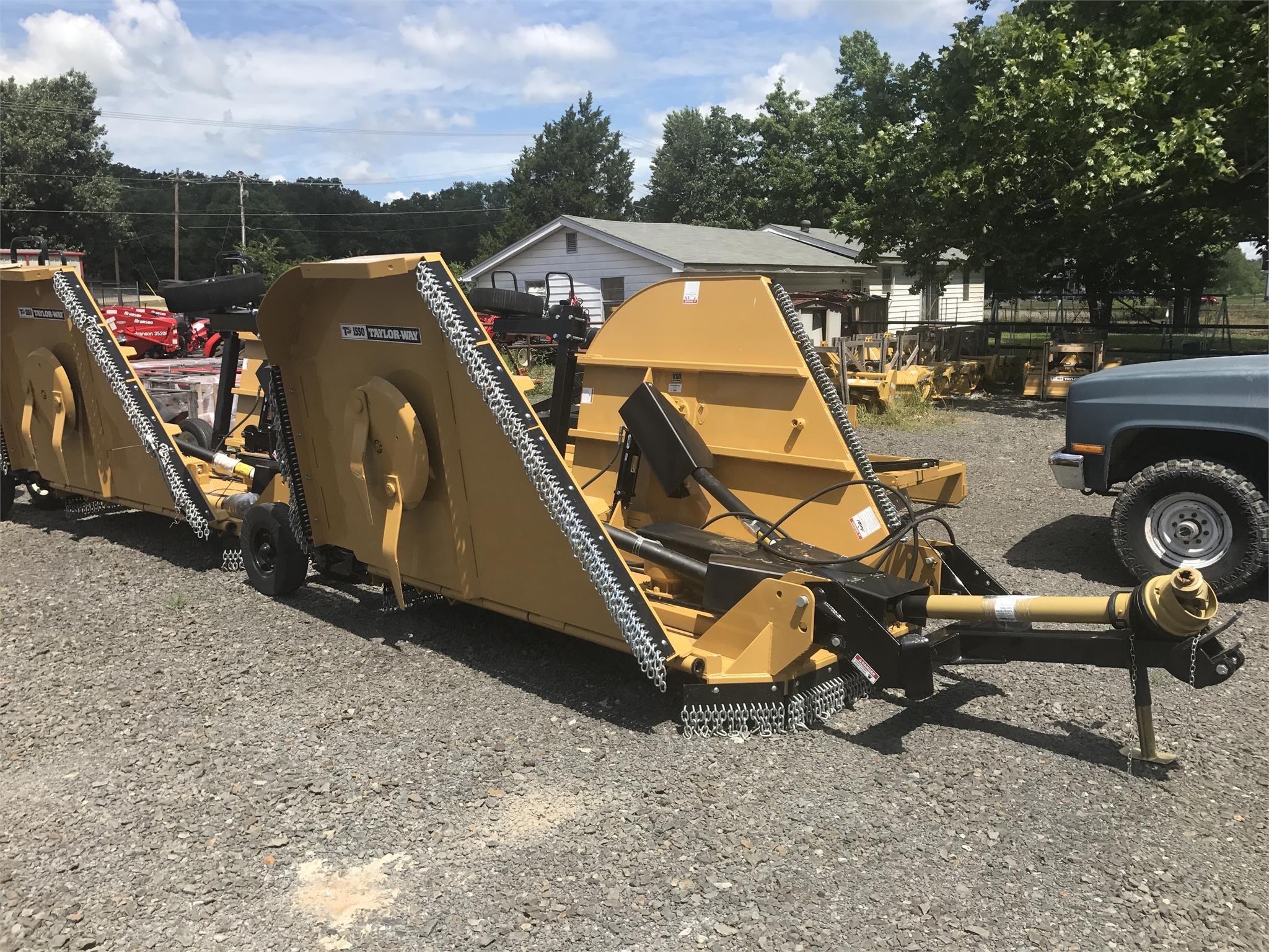 2018 Taylor Way 1550 Rotary Cutter