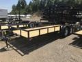 2017 Big Tex 70PI-X Tandem Axle Pipe Utility Flatbed Trailer