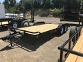 2017 Big Tex 70CH-16BK TANDEM AXLE CAR HAULER Flatbed Trailer