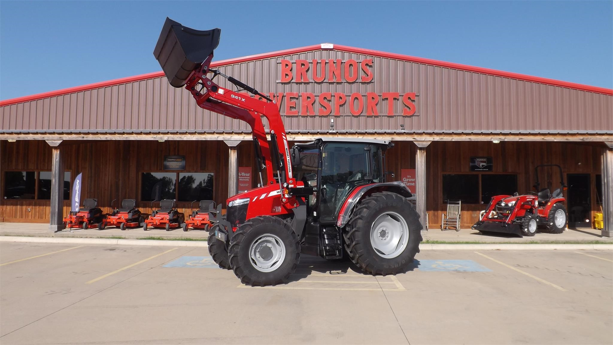 2021 Massey Ferguson 6712 Tractor