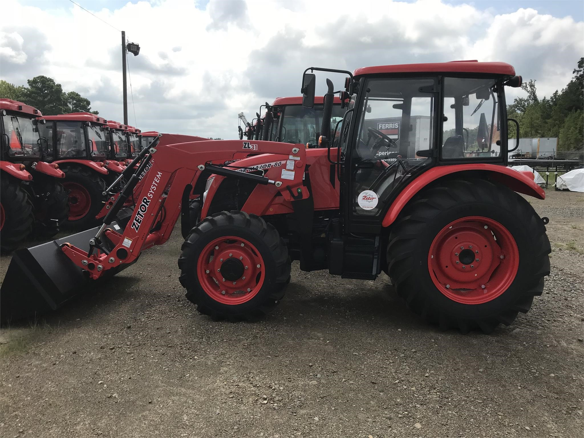 2018 Zetor Major 80 Tractor
