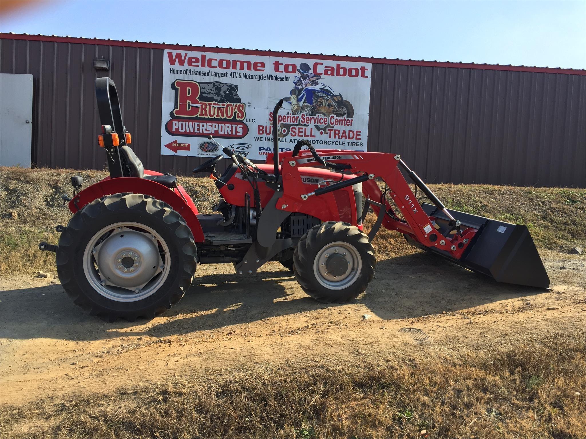 2021 Massey Ferguson 2604H Tractor