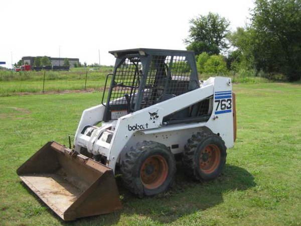 1998 Bobcat 763 Skid Steer Pryor Oklahoma Machinery Pete