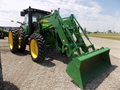 2010 John Deere 843 Front End Loader