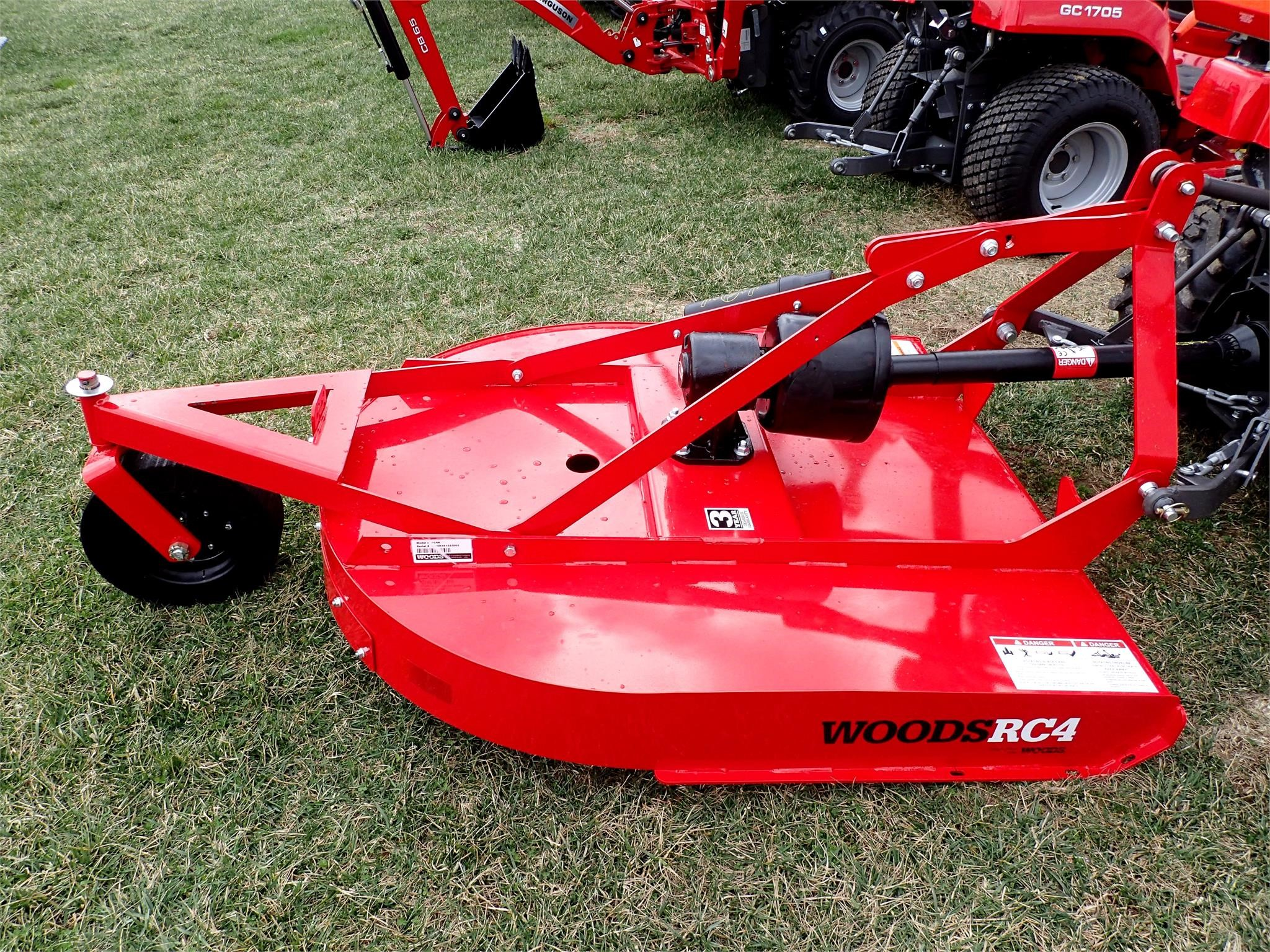 2019 Woods RC4 Rotary Cutter