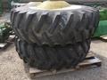 John Deere FS 20.8R38 combine duals Wheels / Tires / Track
