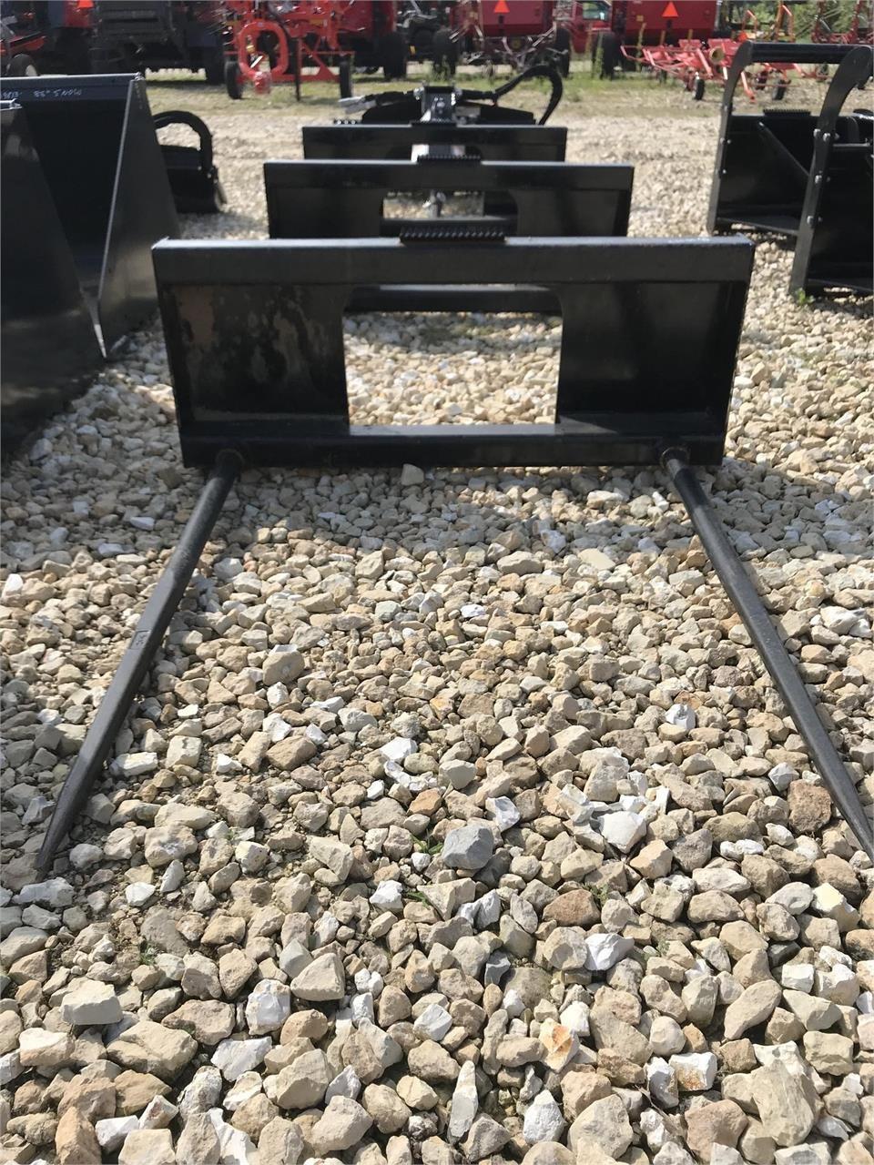 2018 PRIME Bale Fork Loader and Skid Steer Attachment