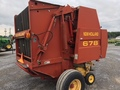 2001 New Holland 678 Round Baler