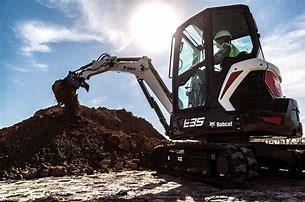 2021 Bobcat E35 Backhoe
