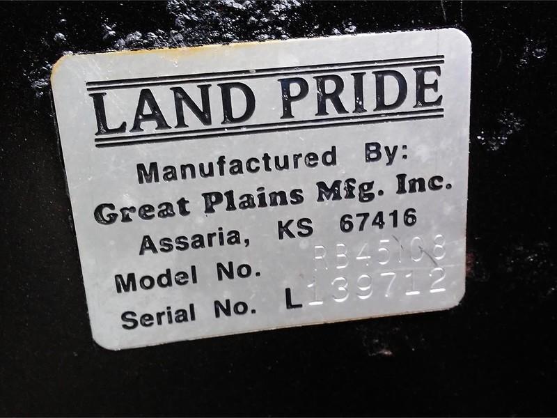 Land Pride RB45108 Blade