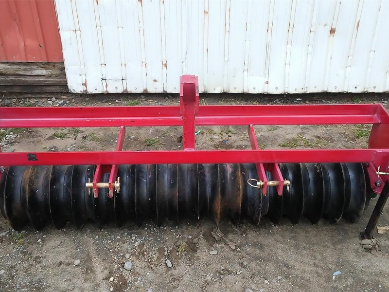 United Implements 6' Mulchers / Cultipacker