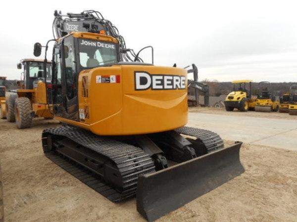 2012 John Deere 135D Excavators and Mini Excavator