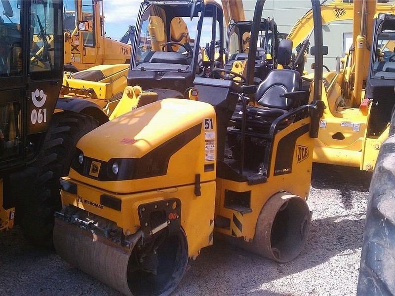 2008 JCB Vibromax VMT160 Compacting and Paving