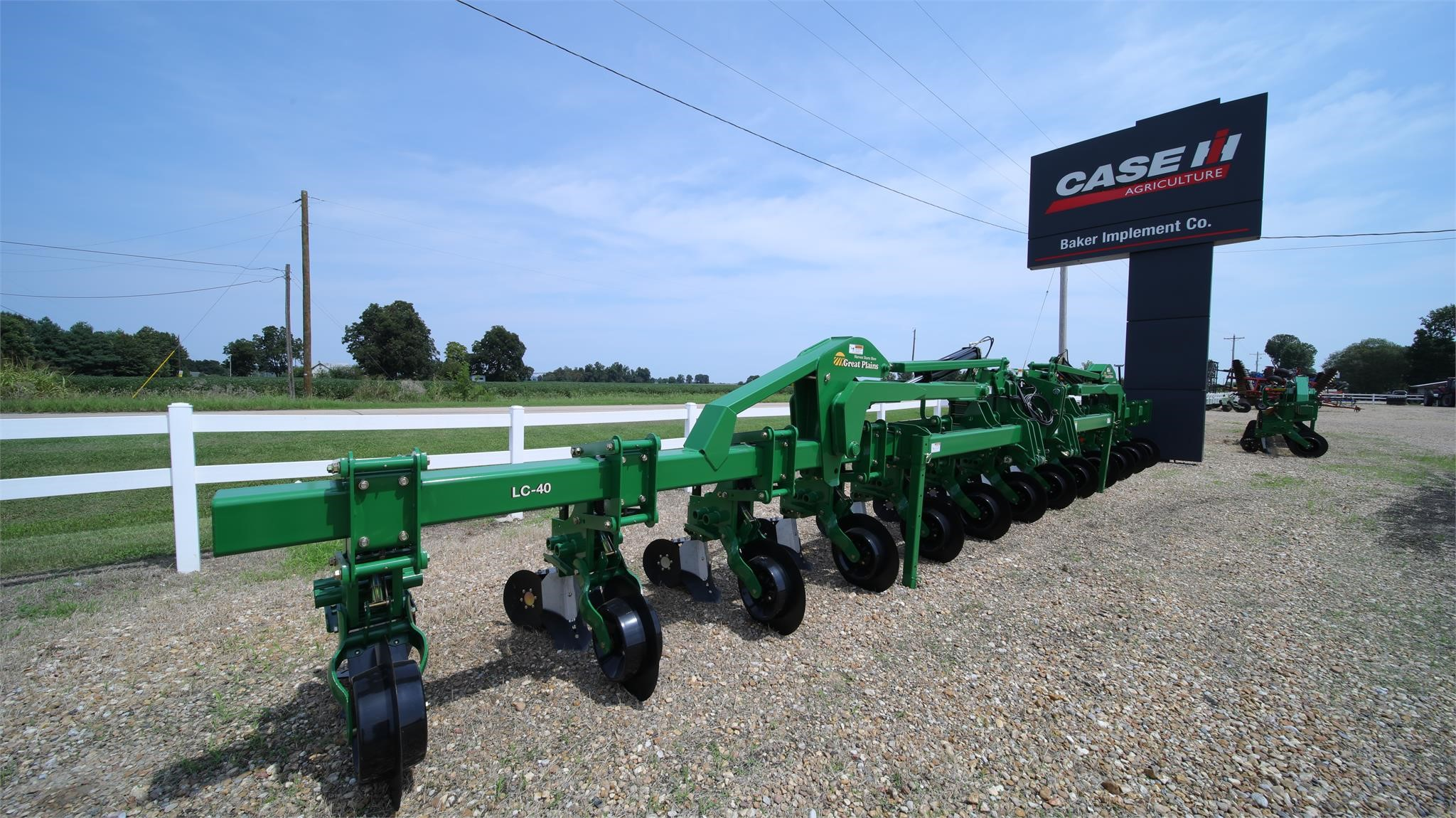 2018 Great Plains LC40 Cultivator