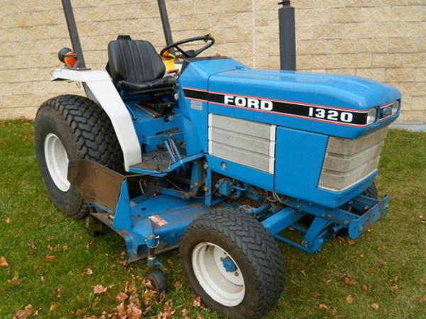 1988 Ford 1320 Tractor Mishawaka Indiana Machinery Pete