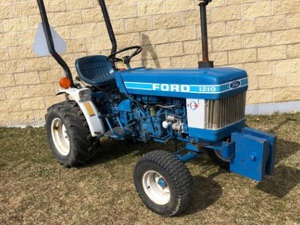 1984 Ford 1210 Tractor Mishawaka Indiana Machinery Pete