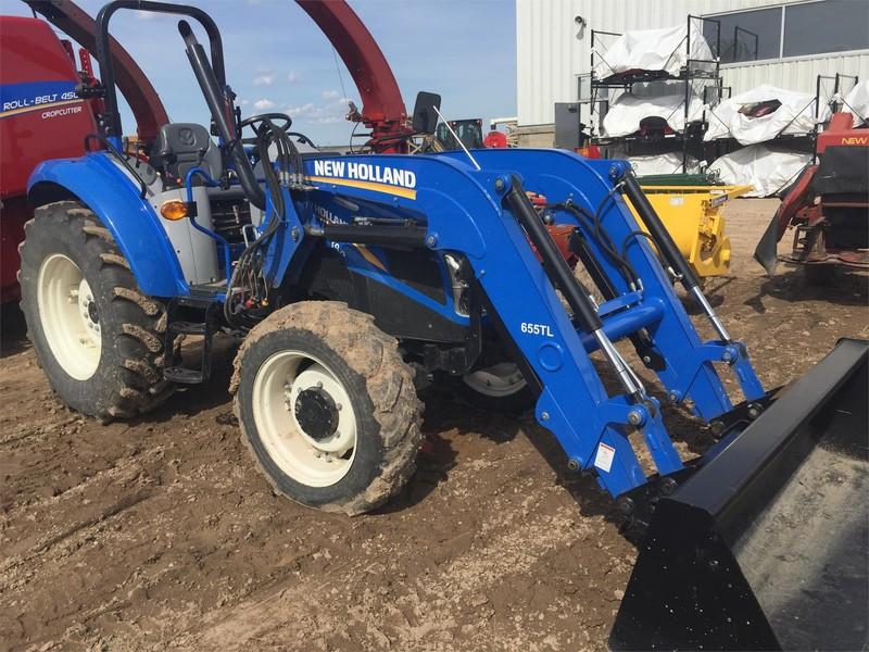 2015 New Holland T4.75 Tractor