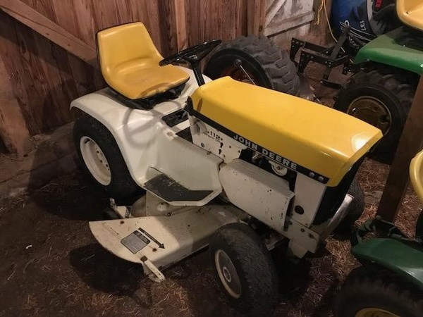 John Deere 110 Lawn And Garden For Sale Machinery Pete