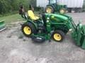 2016 John Deere 2025R Tractor