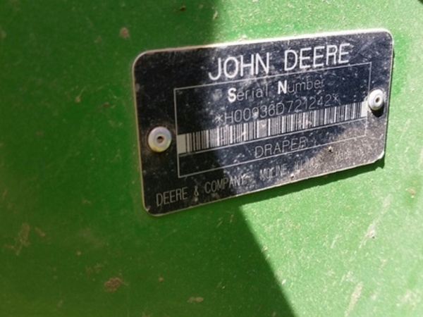 2007 John Deere 936D Platform