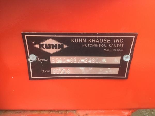 2013 Krause 8200 Disk