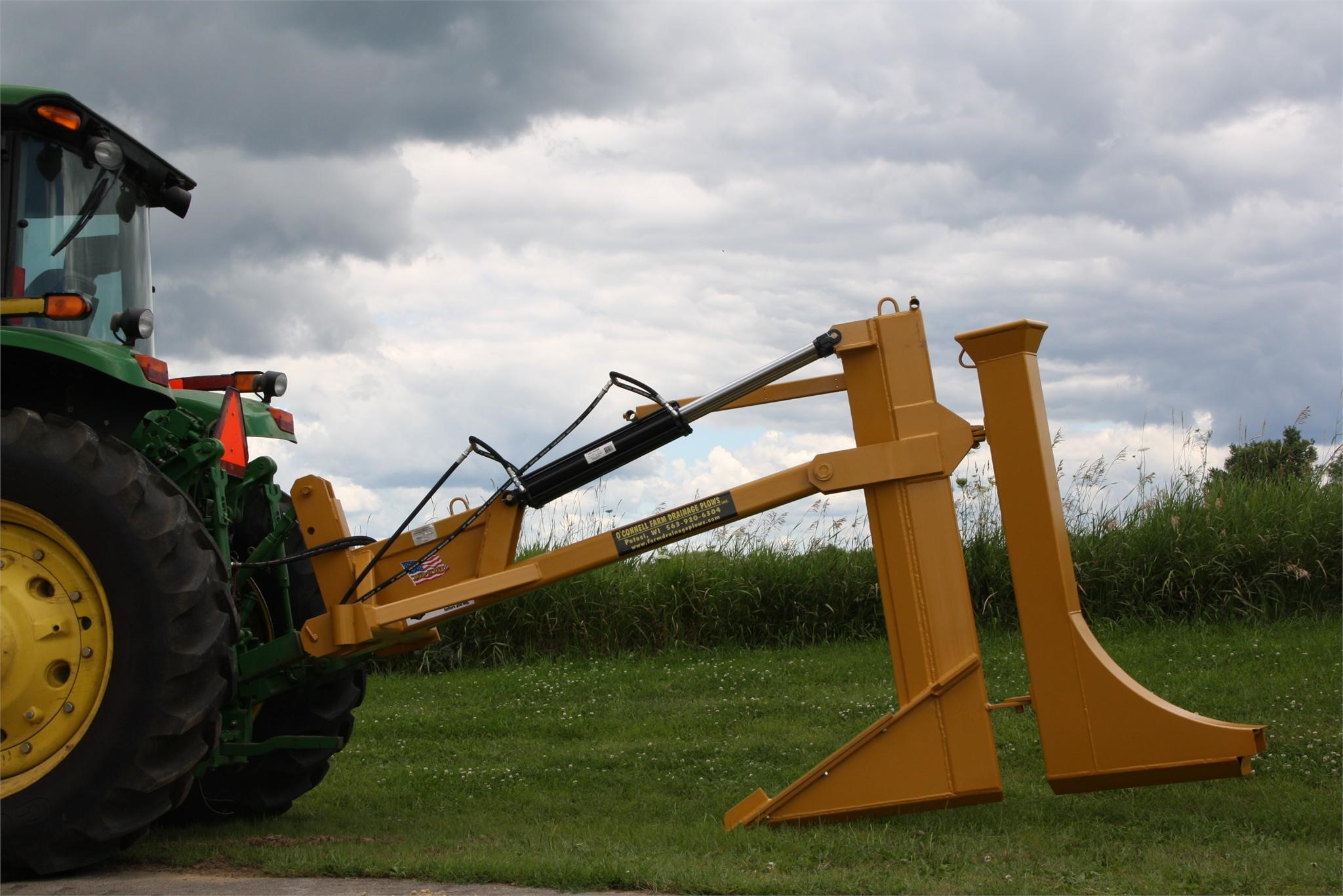 O'CONNELL FARM DRAINAGE PLOWS INC OFDP453PT Field Drainage Equipment