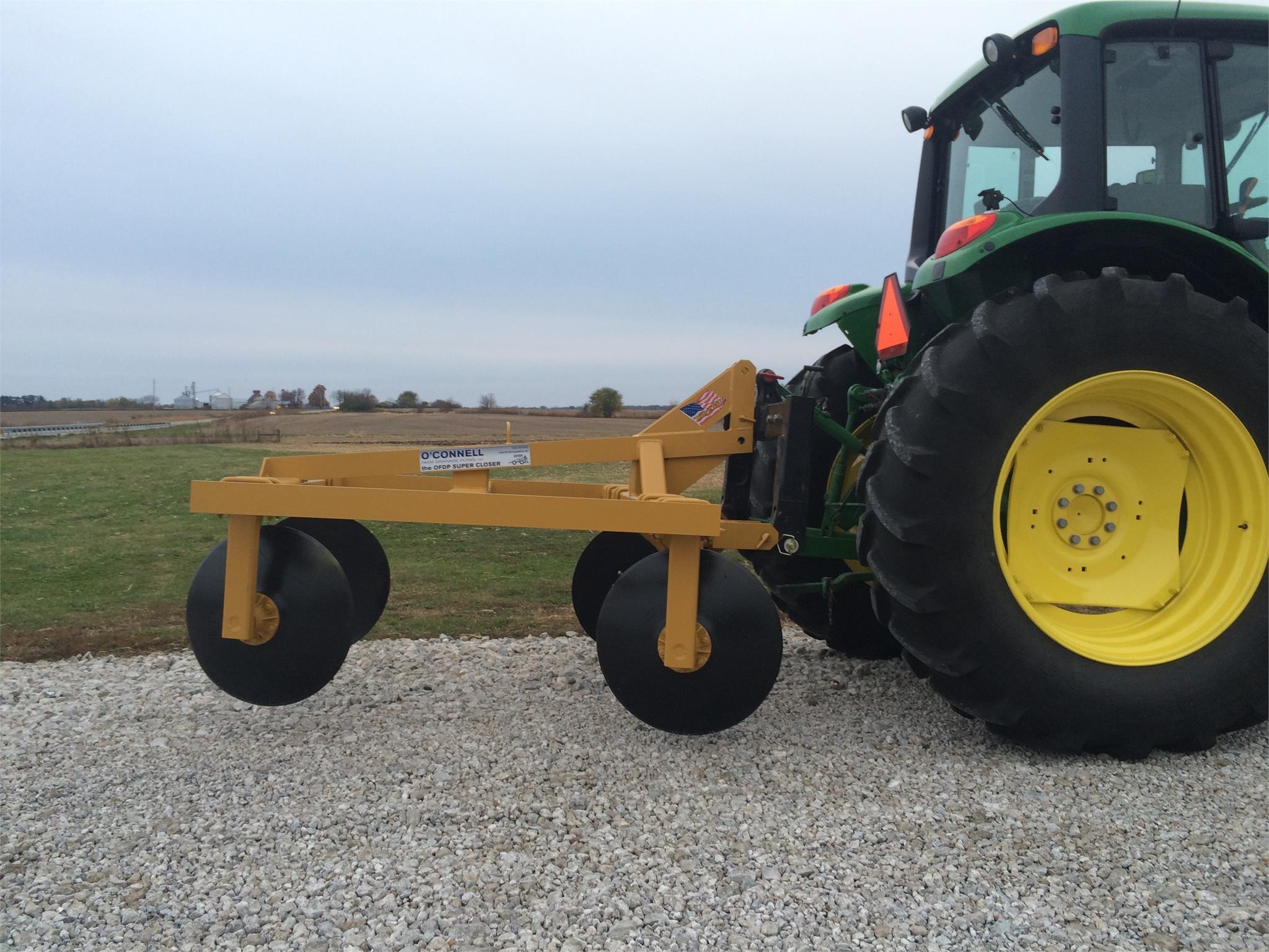 O'CONNELL FARM DRAINAGE PLOWS INC Super Closer Field Drainage Equipment