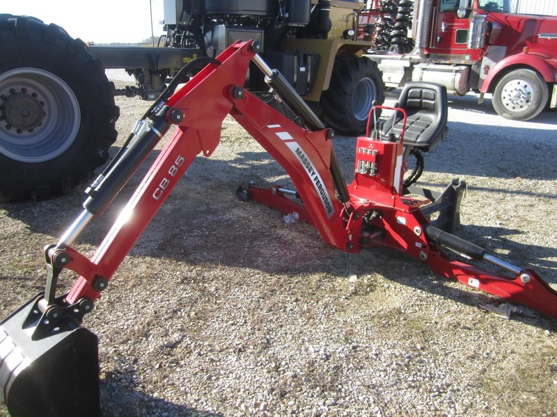 Used Massey Ferguson Backhoe and Excavator Attachments for