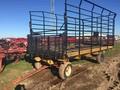 Gruetts 8.5X17 Bale Wagons and Trailer