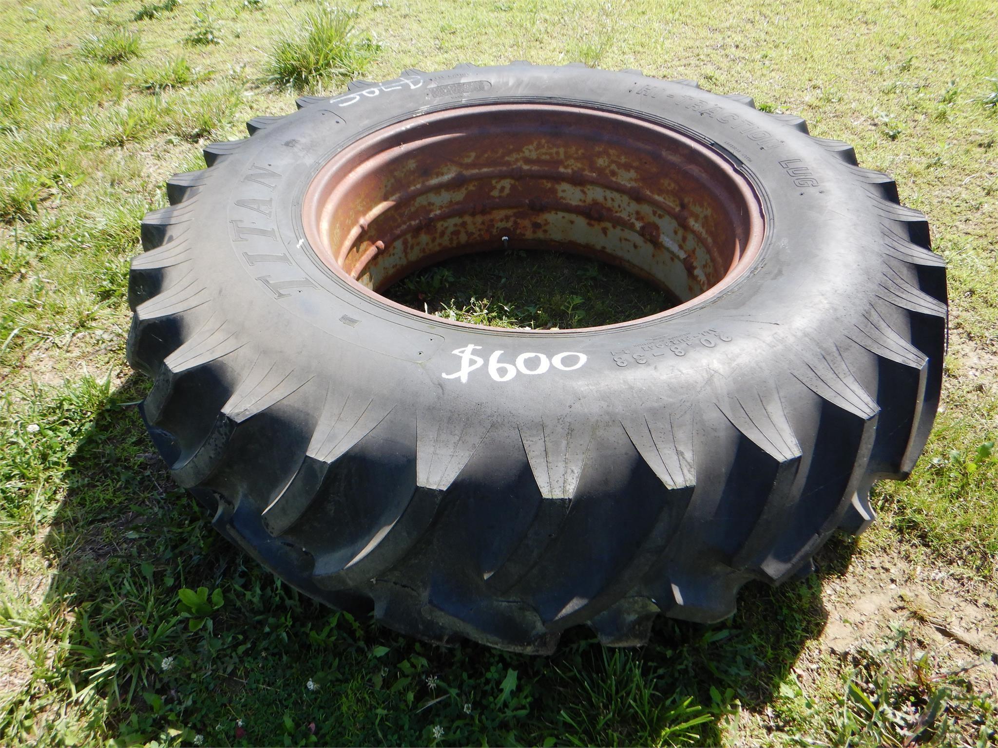 Titan 20.8-38 Wheels / Tires / Track