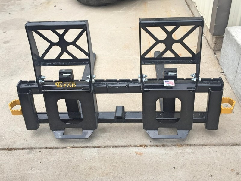 2018 CL FABRICATION PF60 Loader and Skid Steer Attachment
