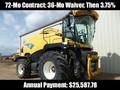 2012 New Holland FR9080 Self-Propelled Forage Harvester