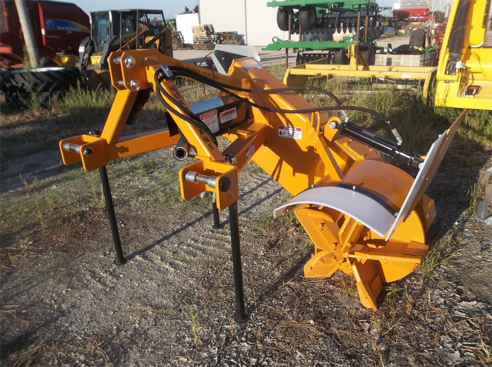 Hurricane Ditcher 3PT26 Field Drainage Equipment