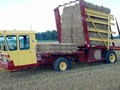 New Holland 1075 Bale Wagons and Trailer