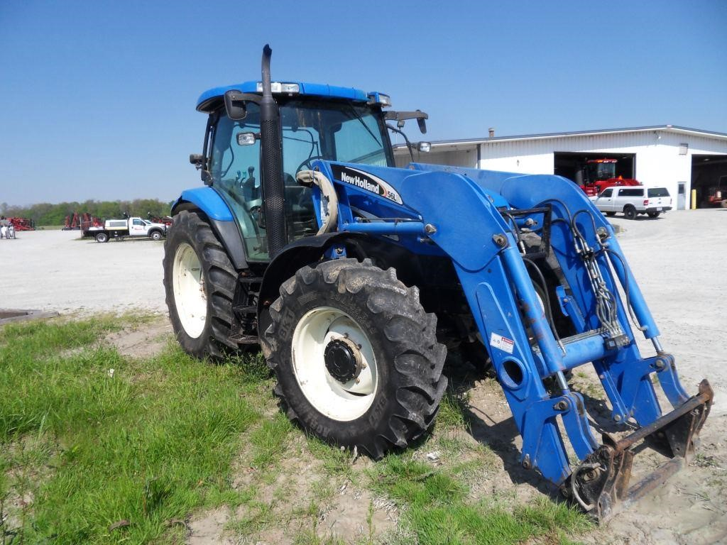 2005 New Holland TS125A Tractor
