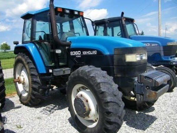 1998 Ford New Holland 8360 Tractor