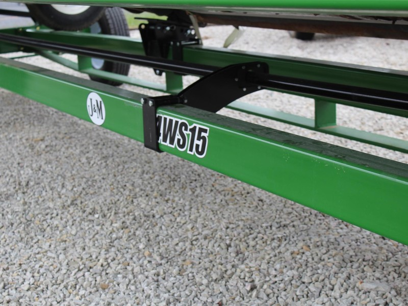 2018 J&M 4WS15-42 Header Trailer