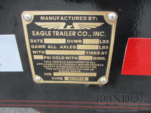 2017 Eagle 7X24FTA80-16000 Flatbed Trailer