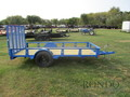 2018 Rice RS7612 Flatbed Trailer