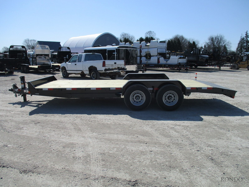 2018 Rice FMEHR8220 Flatbed Trailer