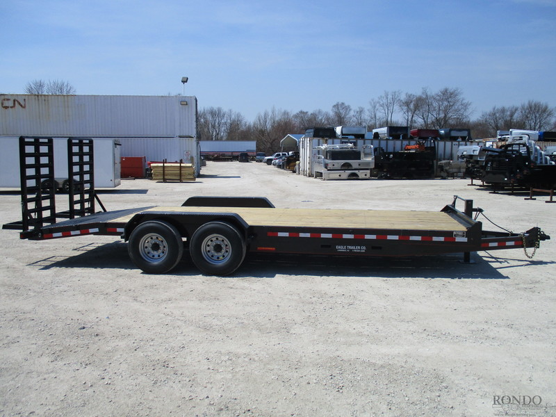 2018 Eagle 7X22FTA80-16000 Flatbed Trailer