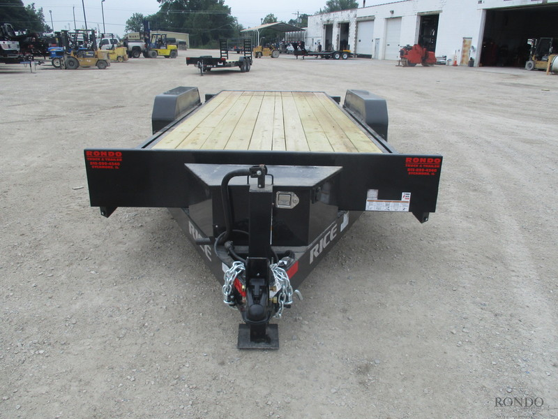 2018 Rice PWRT20 Flatbed Trailer