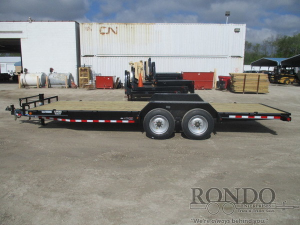 2018 LOAD TRAIL CH8022082 Flatbed Trailer